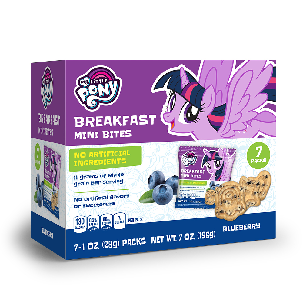 7pk My Little Pony Blueberry Breakfast Bites