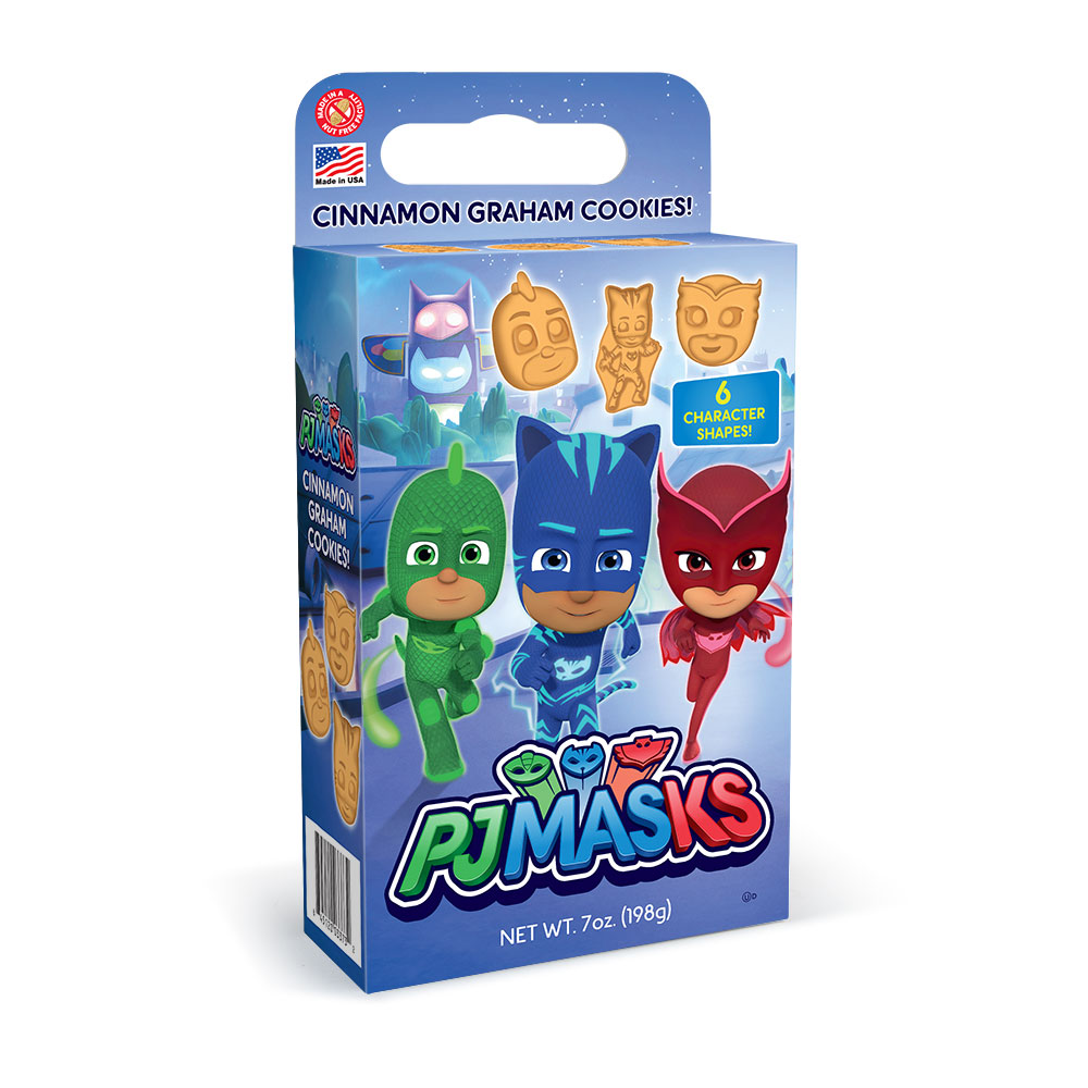 PJ Masks Cinnamon Graham Cookie Cuboid Box