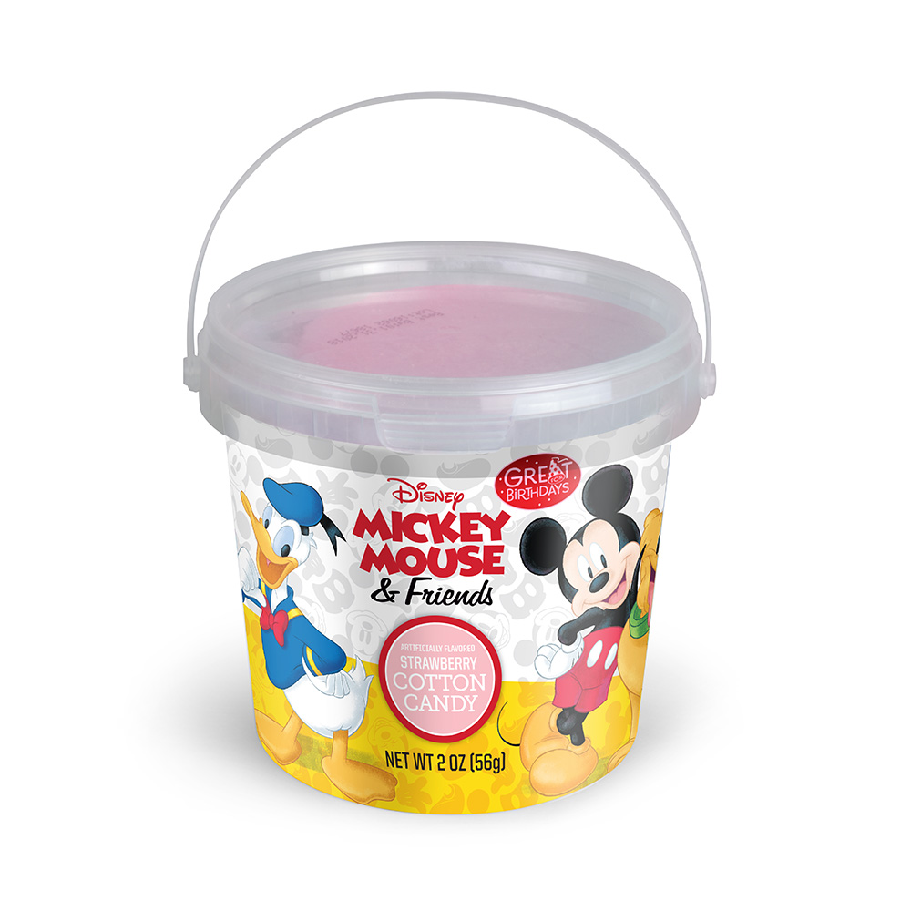 2.0oz Mickey Mouse &Friends Cotton Candy Tub, Strawberry