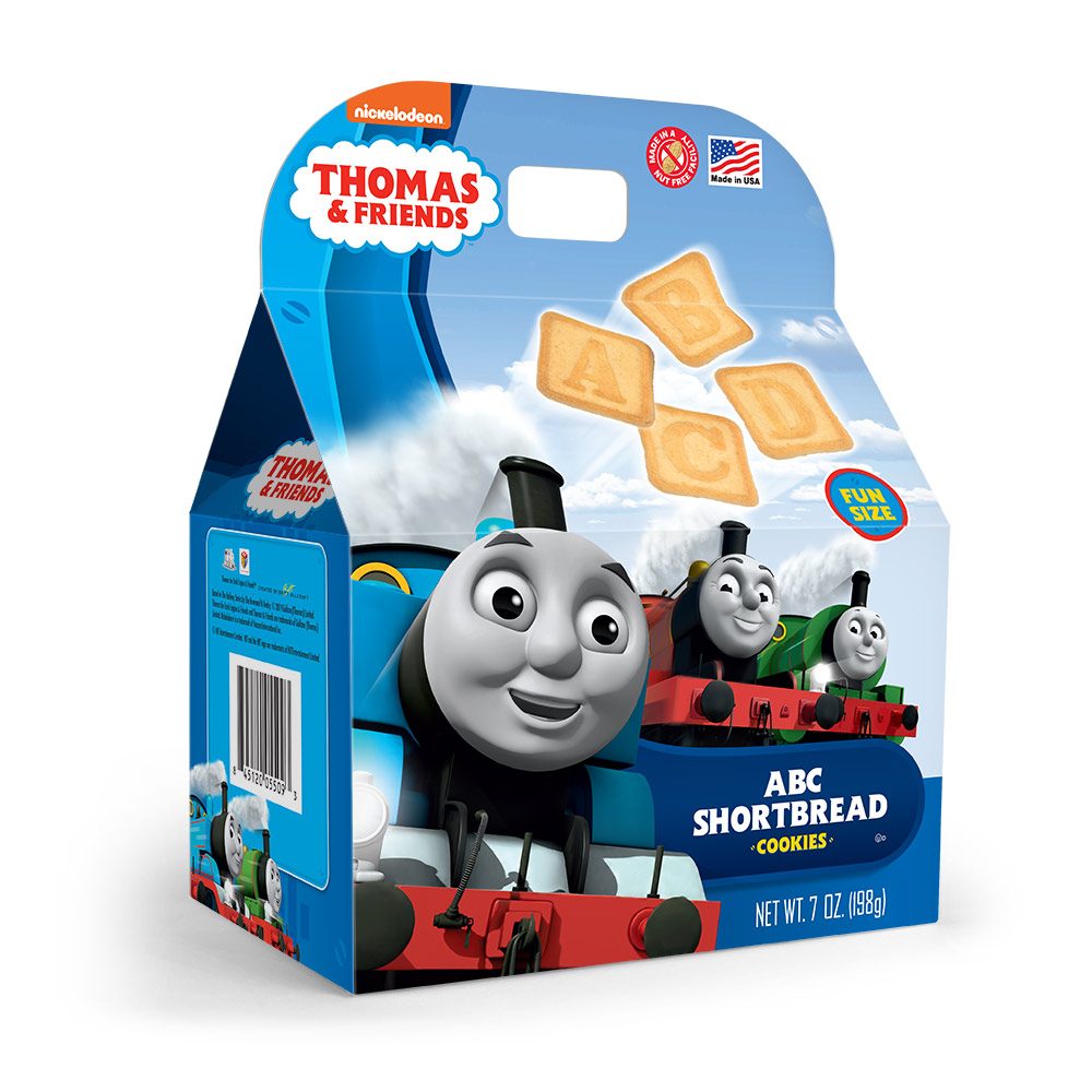 Thomas & Friends Shortbread Cookie Gable Box
