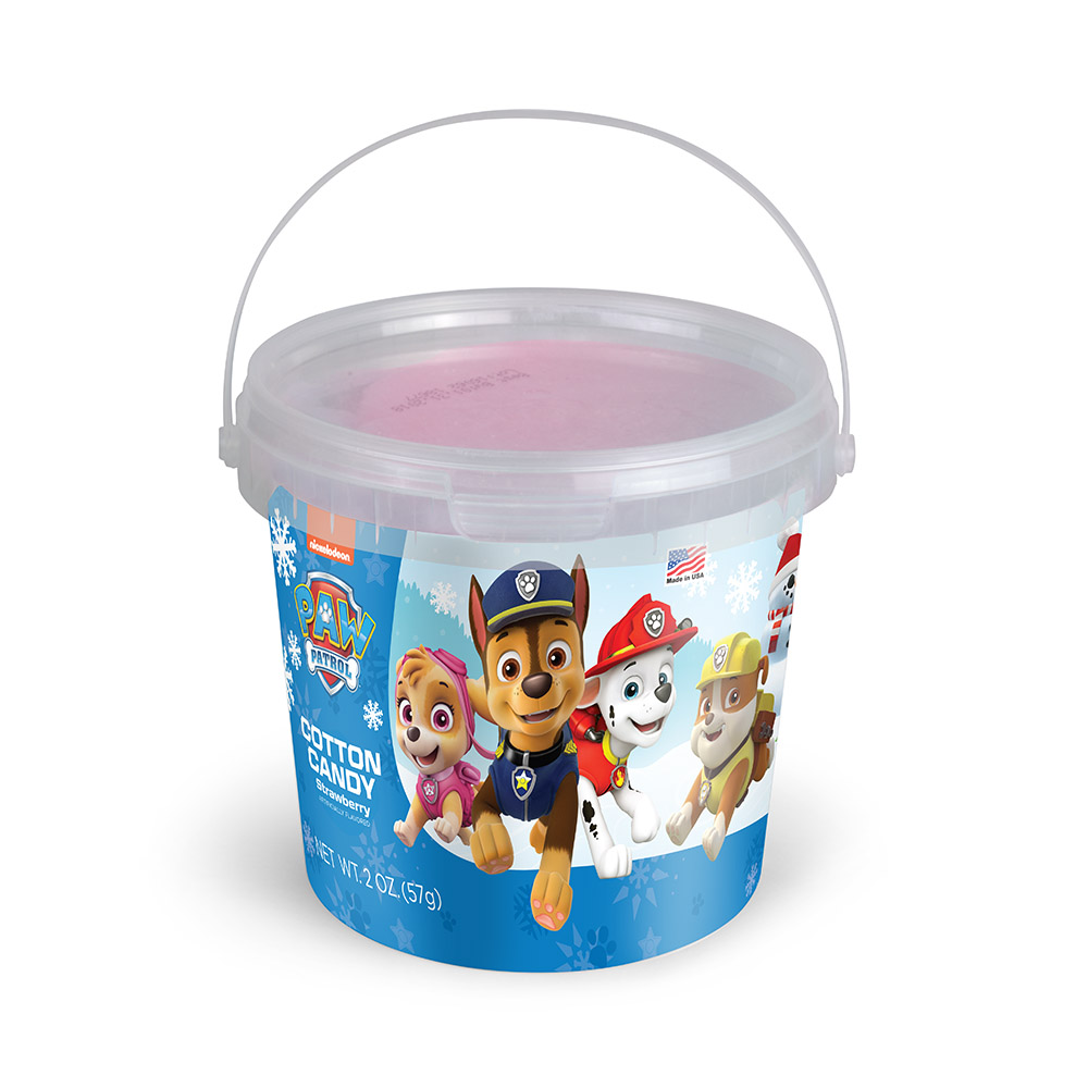 2oz Paw Patrol Winter Cotton Candy Tub