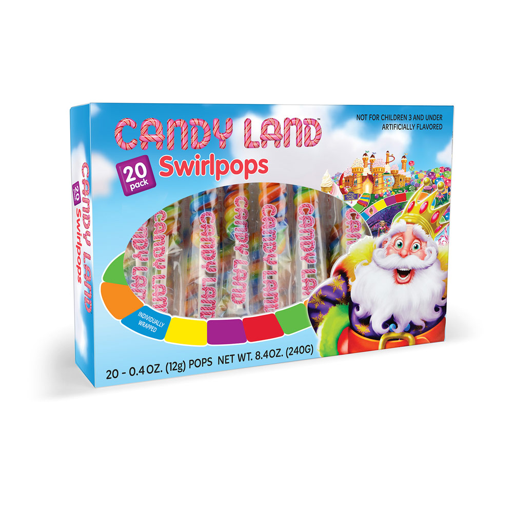 20pk Candy Land Swirl Pops Box