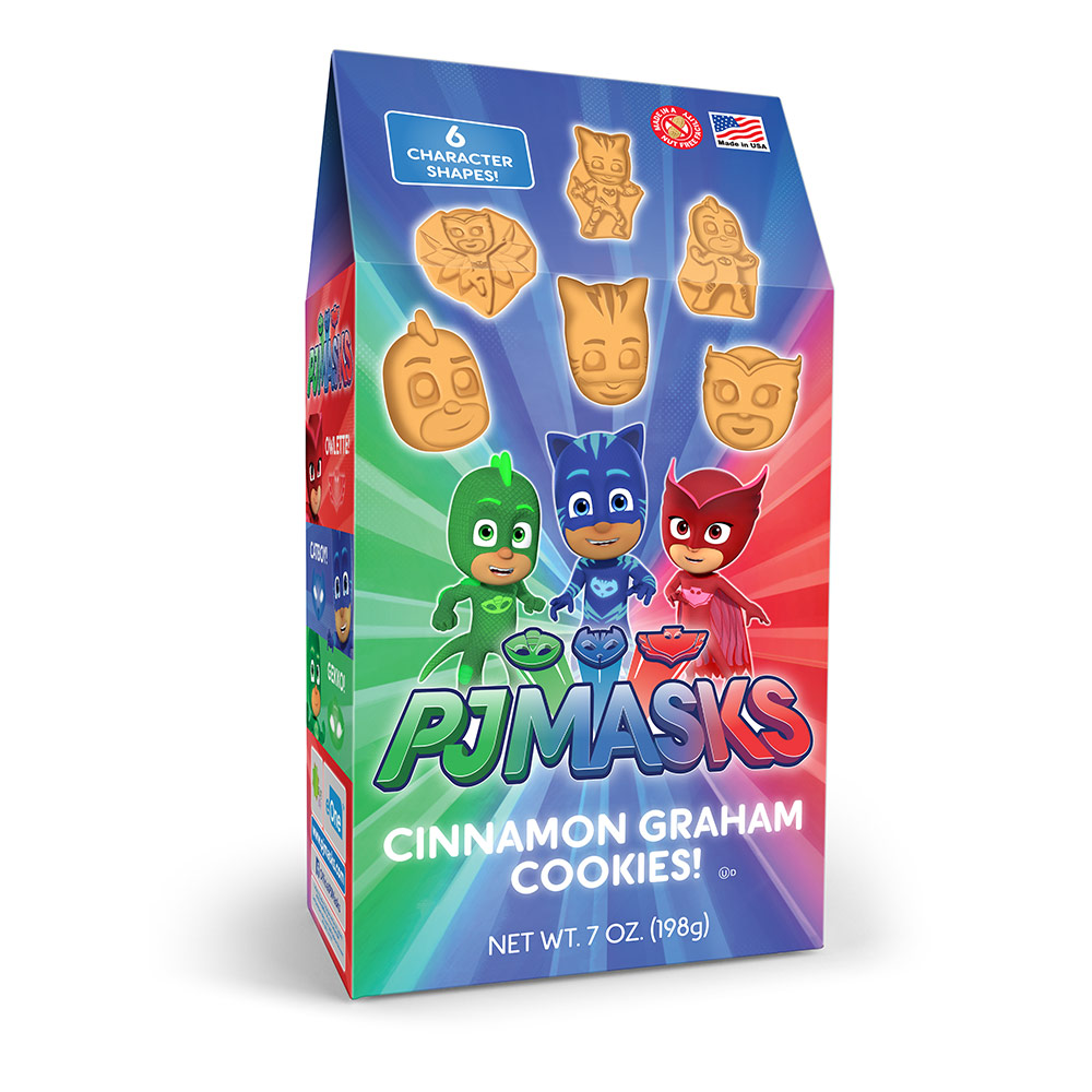 PJ Masks  Cinnamon Graham Cookies Pinnacle Box