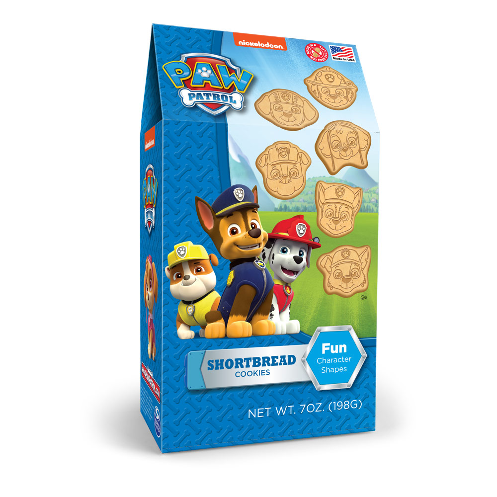 Paw Patrol  Shaped Shortbread Cookies Pinnacle Box
