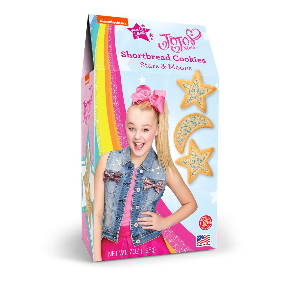 JoJo Siwa Stars N Moons w/ Sprinkles Shortbread Cookies Pinnacle Box