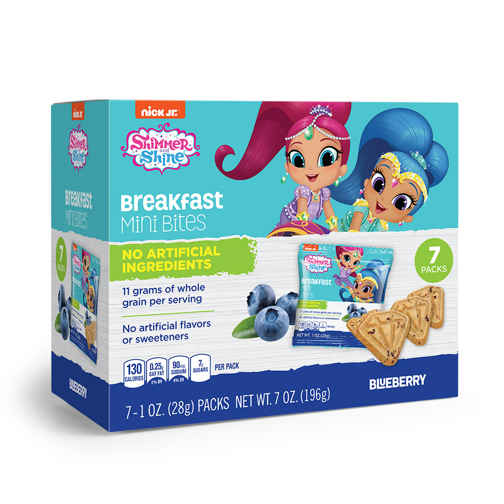 7pk Shimmer N Shine Blueberry Breakfast Bites