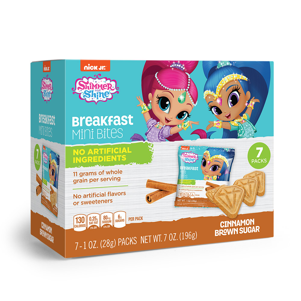 7pk Shimmer N Shine Cinnamon Brown Sugar Breakfast Bites