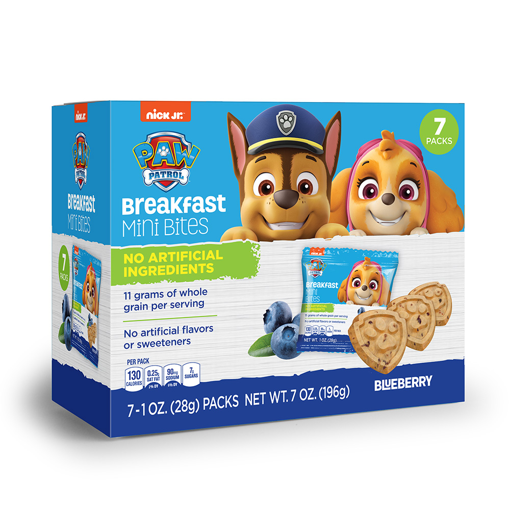 7pk Paw Patrol Blueberry Breakfast Bites