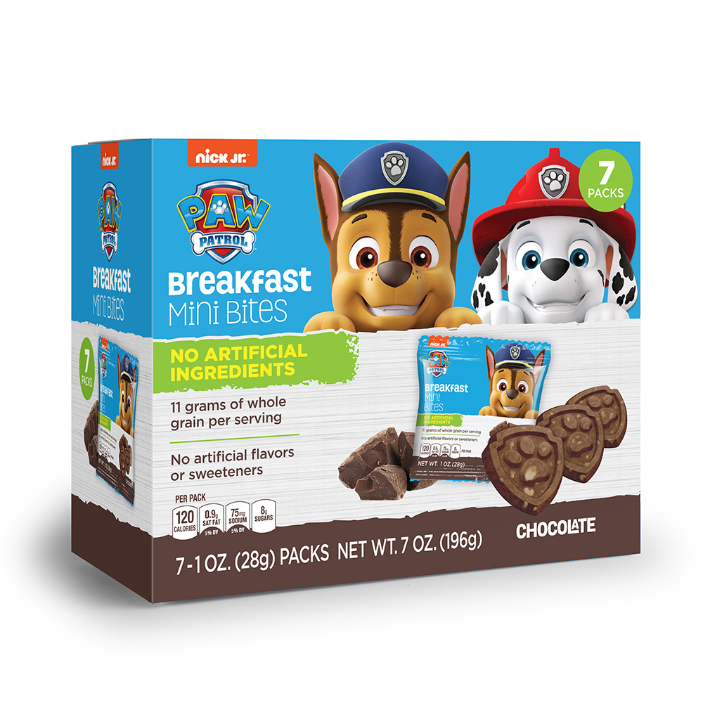 7pk Paw Patrol Chocolate Breakfast Bites