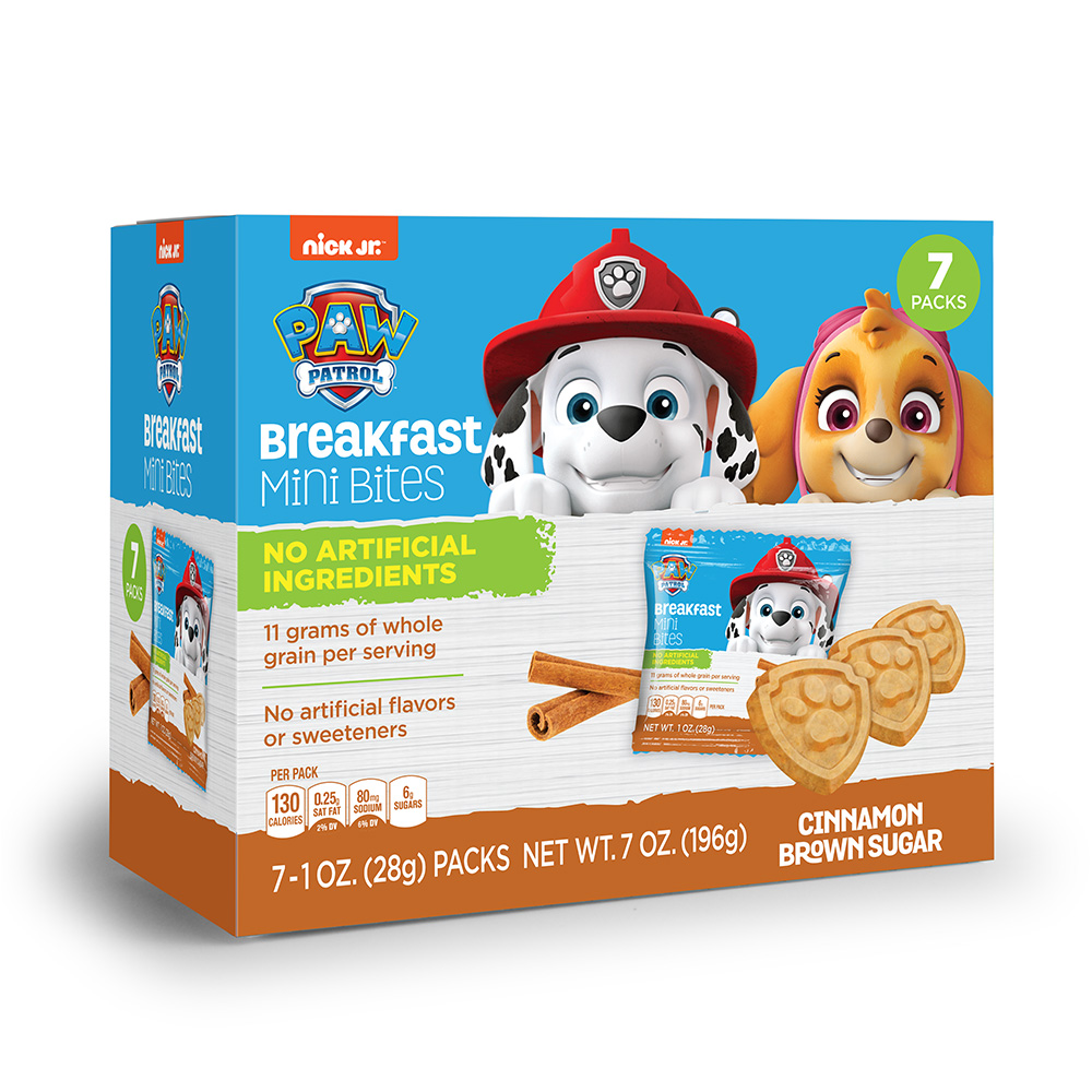 7pk Paw Patrol Cinnamon Brown Sugar Breakfast Bites