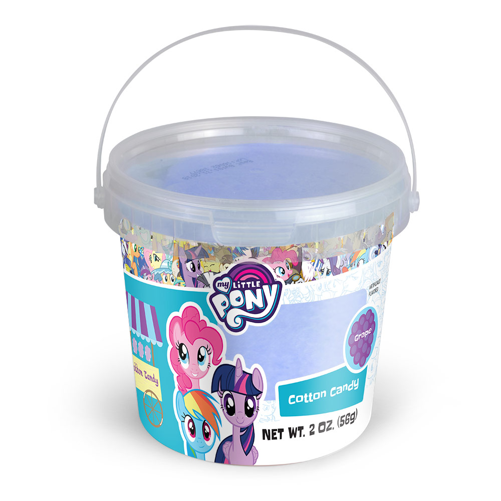 2.0oz My Little Pony Cotton Candy Tub, Grape