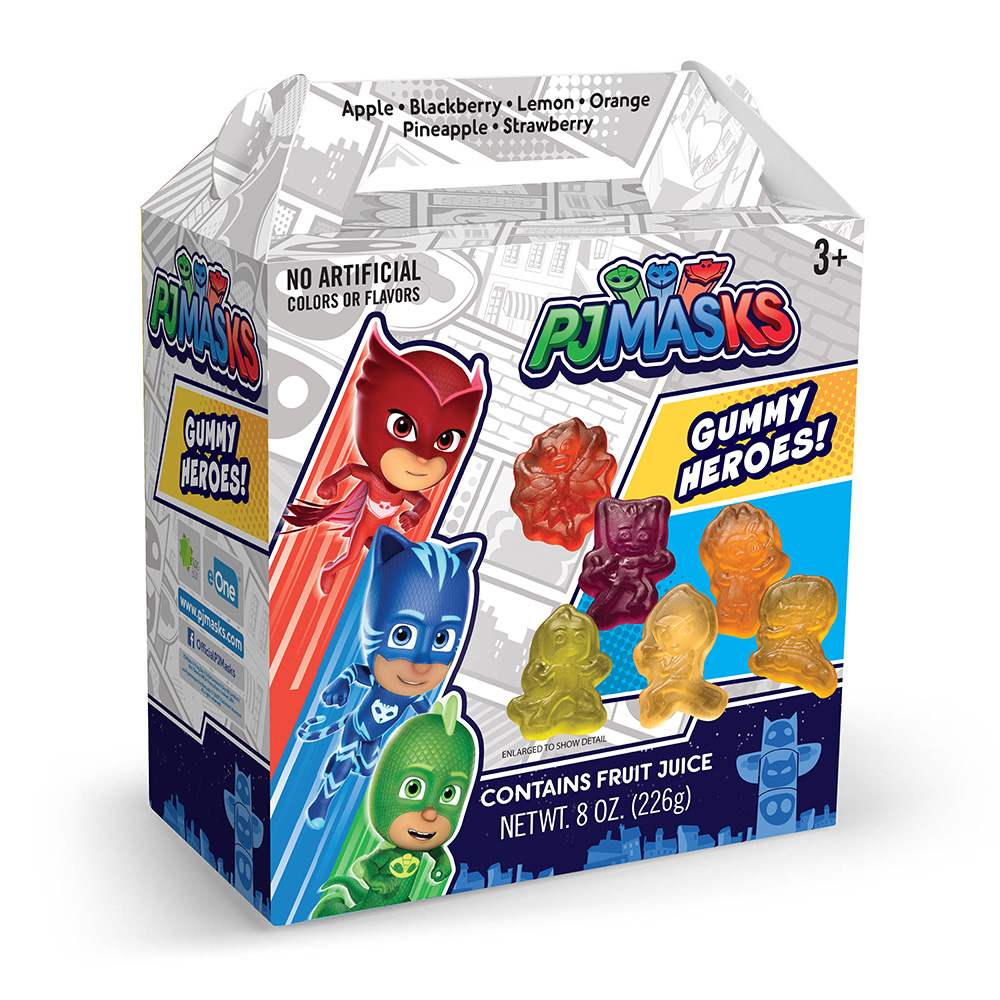 PJ Masks Gummies Box