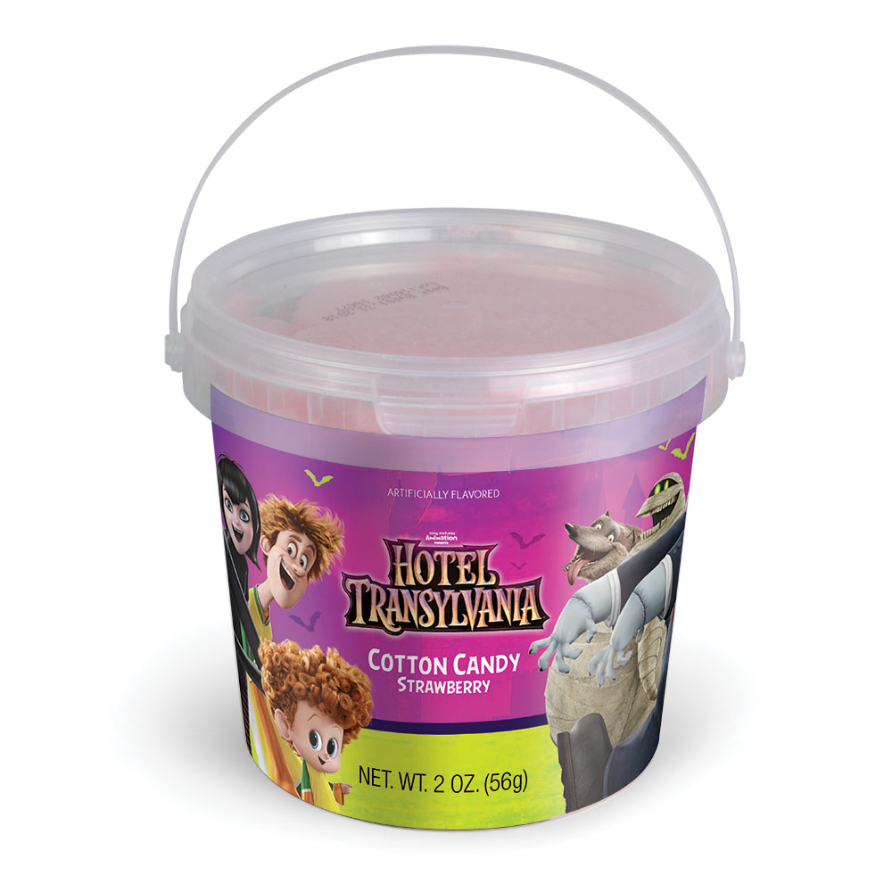 2.0oz Hotel Transylvania Cotton Candy Tub, Strawberry