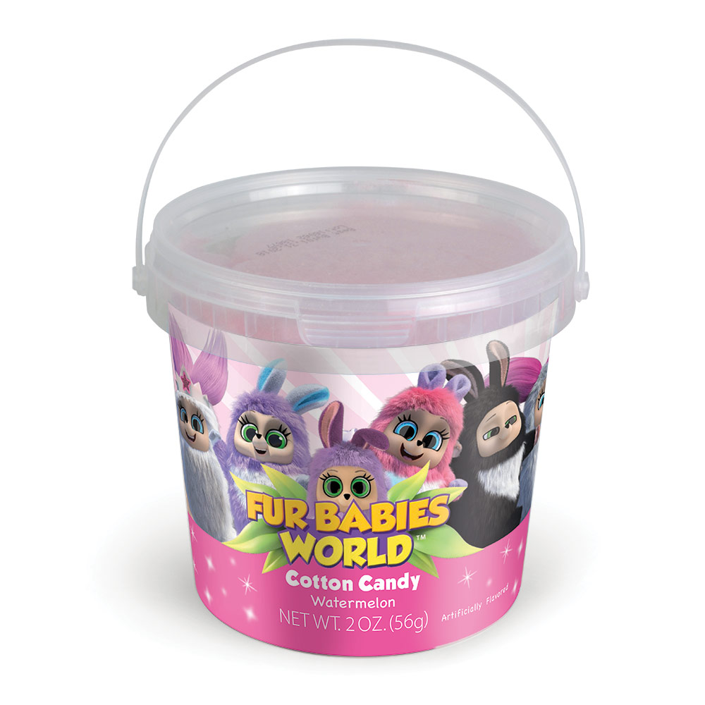 2.0oz Fur Babies Cotton Candy Tub, Pink Watermelon