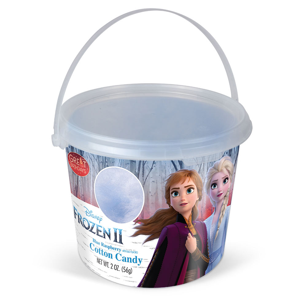 4.5oz Frozen II Cotton Candy Tub, Blue Raspberry