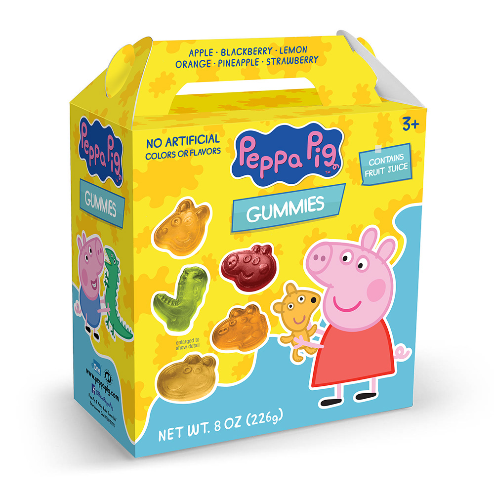 Peppa Pig Gummies Box