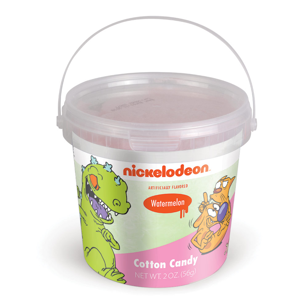 2.0oz Nick Retro Cotton Candy Tub, Watermelon