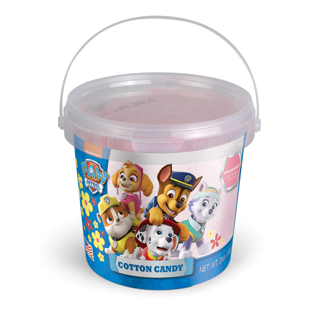 2.0oz Paw Patrol Spring Cotton Candy Tub