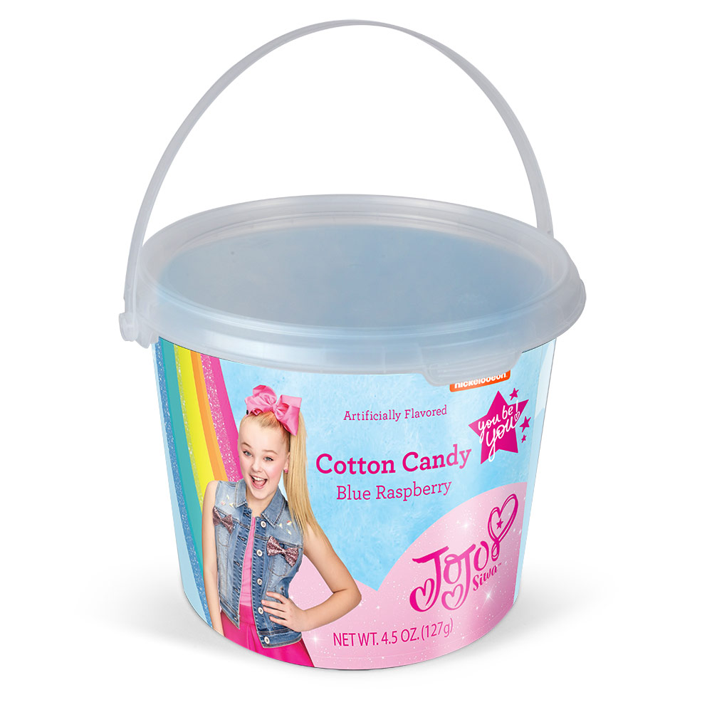 4.5oz JoJo Siwa Cotton Candy Tub, Blue Raspberry