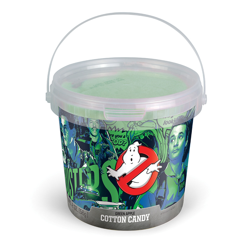 2.0oz Ghostbusters Cotton Candy Tub, Green Apple