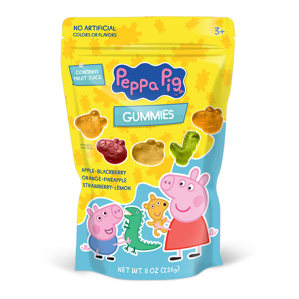 Peppa Pig Gummies Bag