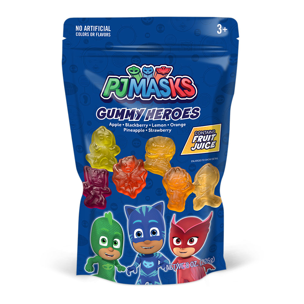 PJ Masks Gummies Bag