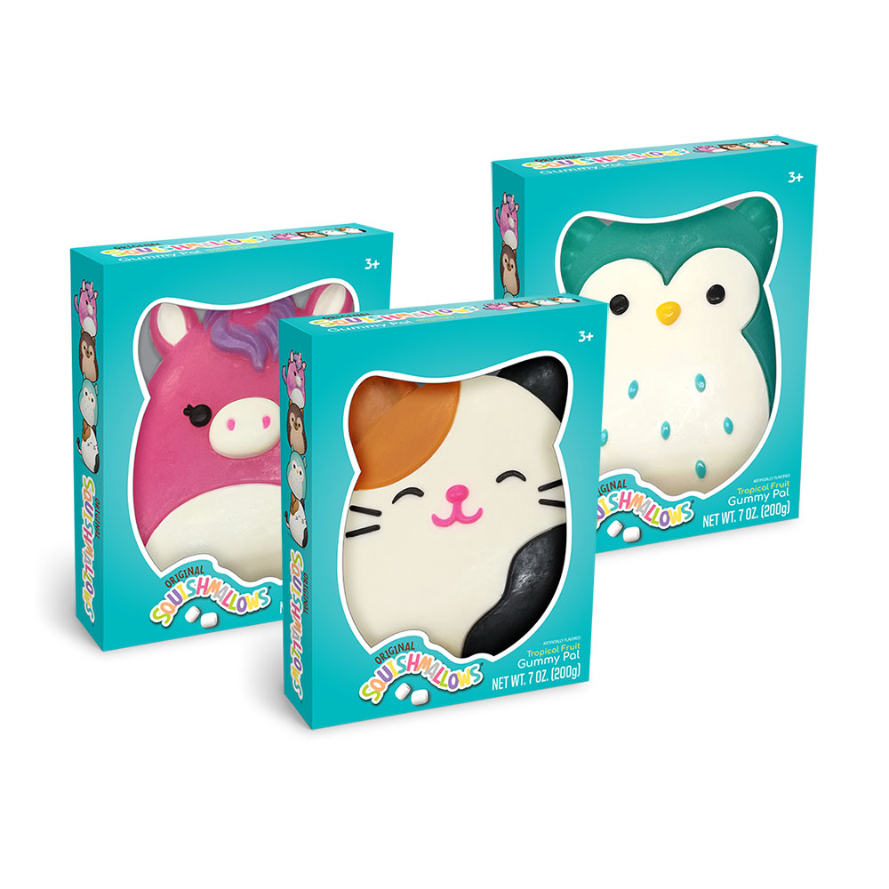 Squishmallows Gummy Character Assortment