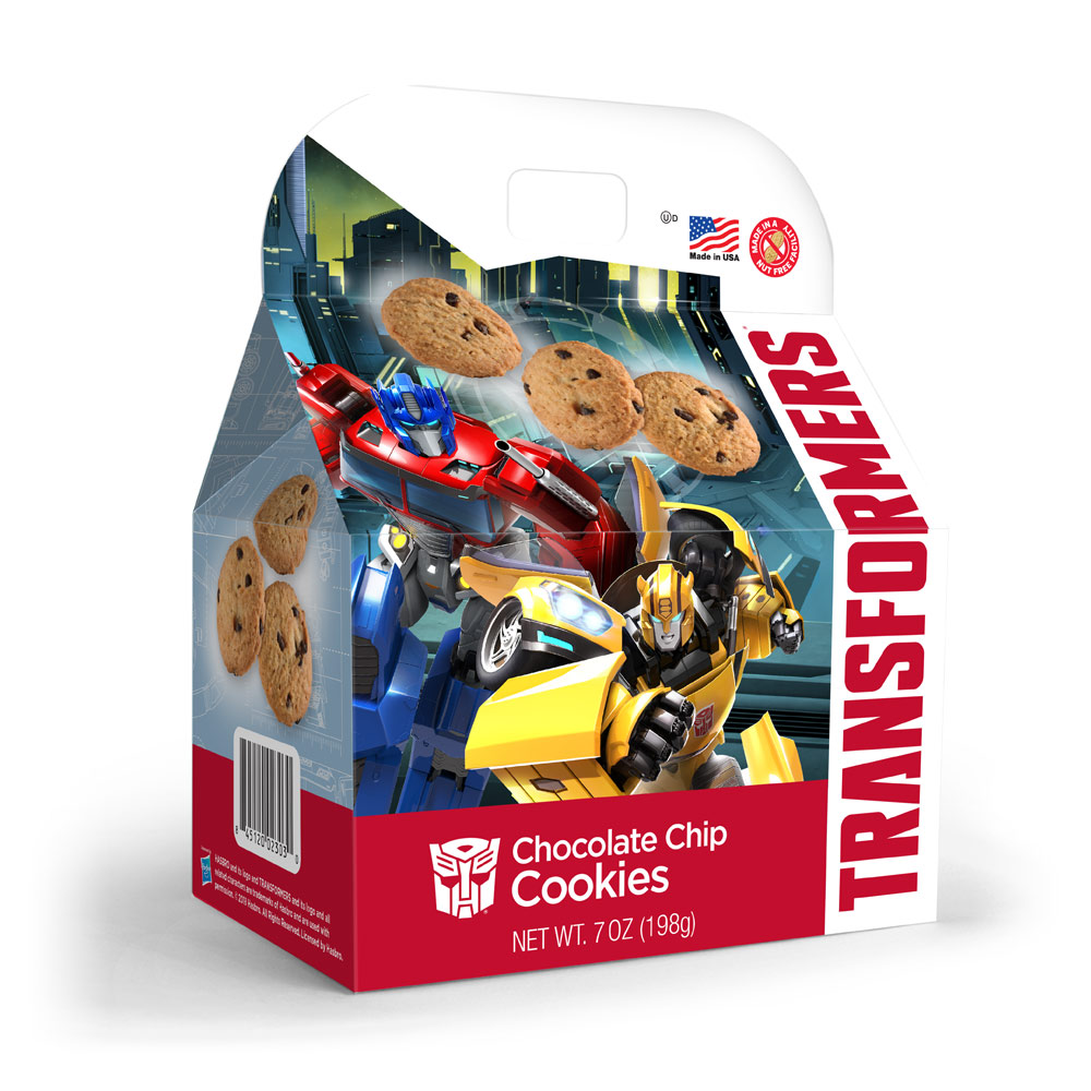 Transformers Chocolate Chip Cookies Gable Box