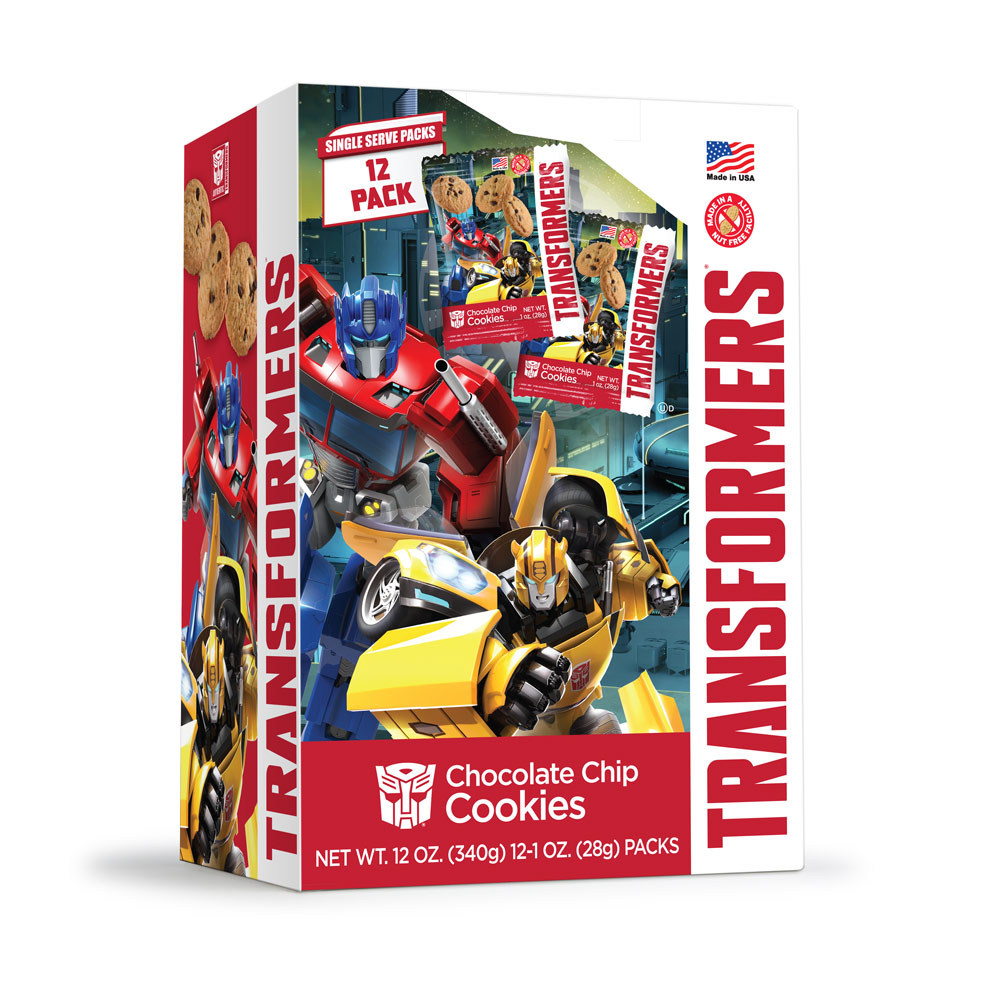 12pk Transformers Chocolate Chip Cookies