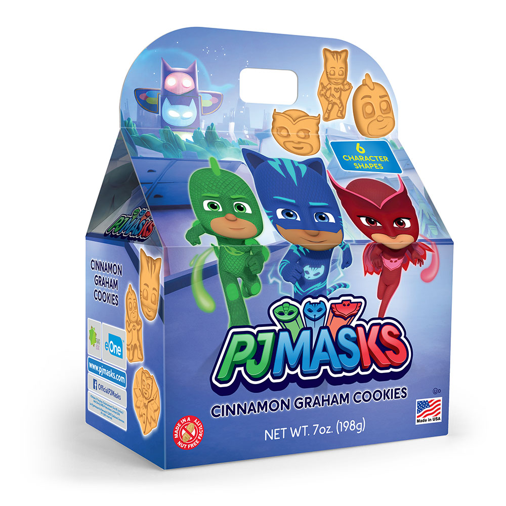 PJ Masks Cinnanom Graham Cookies Gable Box