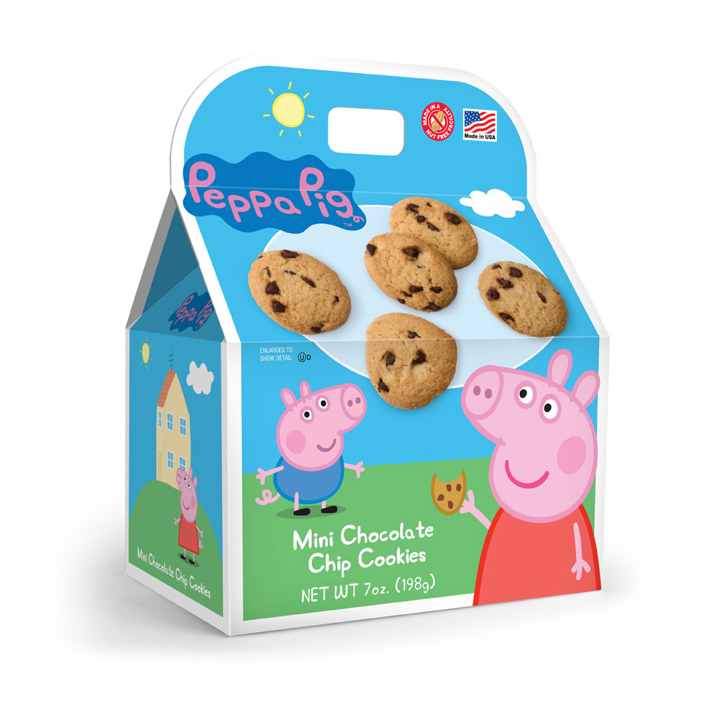 Peppa Pig Chocolate Chip Cookie Gable Box