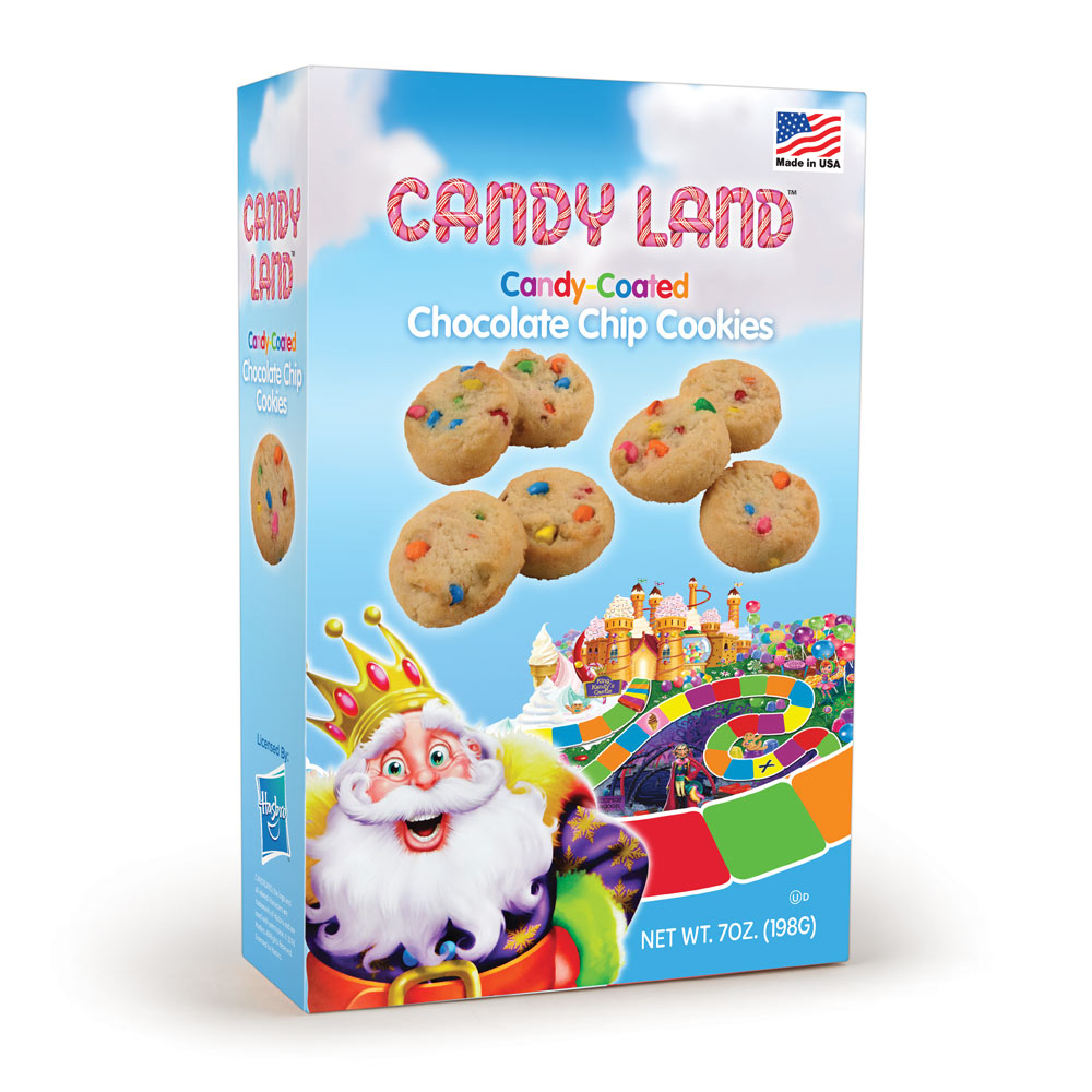 Candy Land Candy Coated Chocolate Chip Cookie Box