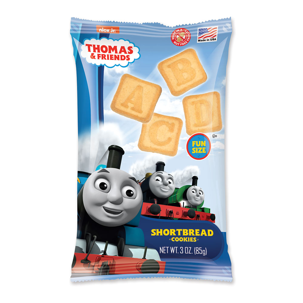 Thomas & Friends 3oz ABC Shortbread Cookies Bag