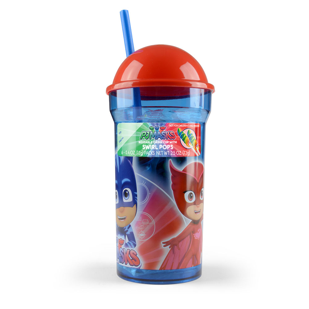 PJ Masks Everyday Dome Cup with Swirl Pops
