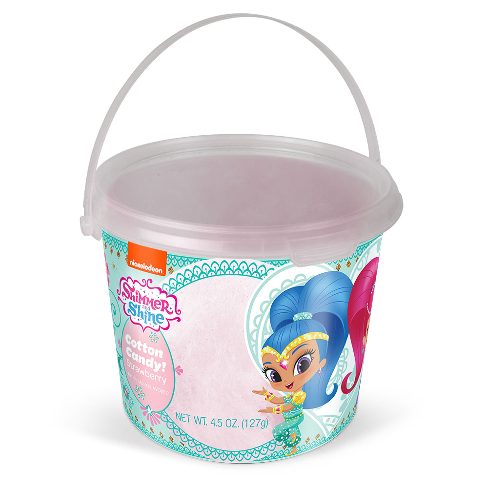 4.5oz Shimmer N Shine Cotton Candy Tub Strawberry