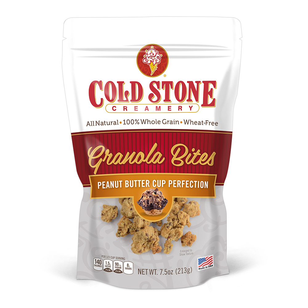 Cold Stone Creamery Peanut Butter Cup Perfection Granola Bites