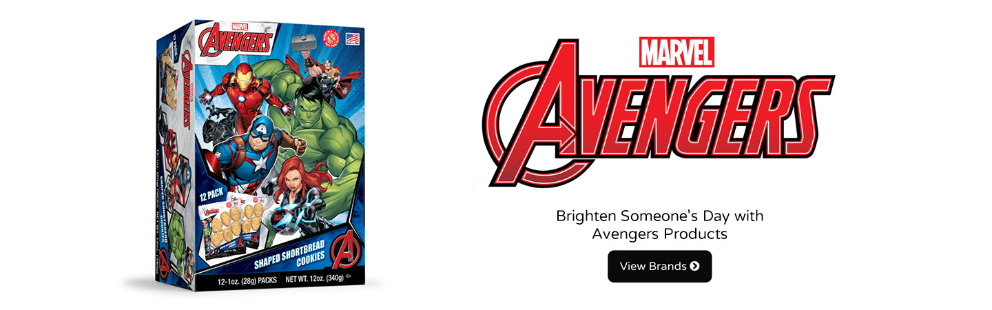 Brighten Someone's Day with Avengers Products
